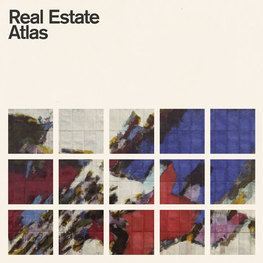 Real Estate's new CD cover for their new album, Atlas. Photo fromhttp://www.realestatetheband.com